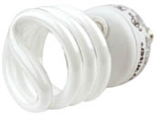 Bulbrite 509011 CF13WW/LM/E12 13W 120V Warm White Spiral CFL Bulb, E12 Base
