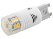 Bulbrite B770550 LED3G9/WW Non-Dimmable 3W 3000K 120V T4 LED Bulb