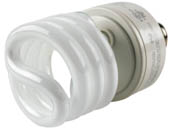 TCP TEC28942-277-27K TCP 28942277 42W 277V Warm White Spiral CFL Bulb, E26 Base