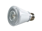 TCP LED8P20D30KFL Dimmable 7W 3000K 40° PAR20 LED Bulb, Wet Rated