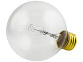 Philips Lighting 420844 40G25/EV/CL 120V Philips 40W 120V G25 Clear Halogen Globe Bulb