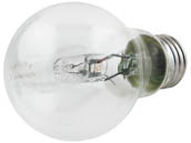 Philips Lighting 429241 72A19/EV/CL Philips 72W 120V A19 Clear Halogen Bulb