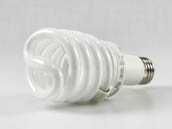 TCP 48923225 23W/2700K Spiral Long Neck 23W Warm White Long Neck Spiral CFL Bulb, E26 Base