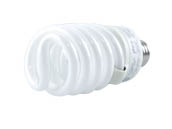 TCP 48927-30K 48927 (3000K) 27W Soft White Spiral CFL Bulb, E26 Base