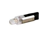 CEC Industries CL120PSB-W L120PSB-W CEC 1.2W 120V Mini LED 2 Bulb