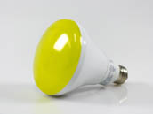 TCP LED12BR30DY 12 Watt, 120 Volt Dimmable Yellow LED BR30 Bulb