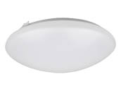 NaturaLED 7146 LED16FMR-160L830 22 Watt Dimmable LED Ceiling Flush Mount Fixture, 3000K