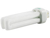 Halco Lighting 109122 PL13D/E/50/ECO Halco 13W 4 Pin G24q1 Bright White Double Twin Tube CFL Bulb