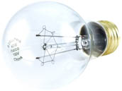 Halco Lighting HAL76016 A19CL40/VS Halco 40W 130V A19 Clear Bulb Vibration Service E26 Base