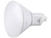 Green Creative 97669 11PLVG4/827/DIR  disc use 28374 11W 4 Pin Vertical 2700K G24q LED Bulb, Uses Existing Ballast