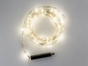 Bulbrite 810065 LED/STAR/SIL/M/27K 10 Foot AC Powered Multi LED String Lights
