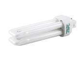 Bulbrite 524233 CF13D835/E 13W 4 Pin G24q1 Neutral White Quad Double Twin Tube CFL