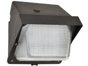 NaturaLED 7466 LED-FXTWP28/40K/DB Dimmable 100 Watt Equivalent, 28 Watt Forward Throw LED Wallpack Fixture, 4000K