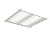 Day-Brite 2DLG34L835-2-D-UNV-DIM DuaLED Dimmable 35W 3500K 2x2 ft Recessed LED Troffer