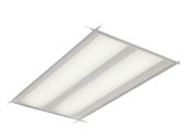 Philips Lighting 2DLG43L835-4-D-UNV-DIM-SWZG2 Philips DuaLED Dimmable 41W 3500K 2x4 ft Recessed LED Troffer with SpaceWise