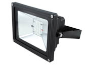 NaturaLED 7515 LED-FXFDL28/40K/BK 175 Watt Equivalent, 28 Watt LED Flood Light Fixture, 4000K