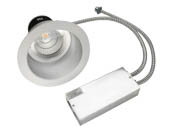 "MaxLite 95335 RRECO61830W 18 Watt, 2x18 Watt CFL Equivalent, Dimmable, 3000K, 6"" LED Recessed Downlight Retrofit"