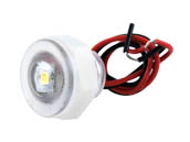 Lumitec Lighting 101084 Newt Livewell/Courtesy Newt Marine Live Well and Engine Well Light with White Output
