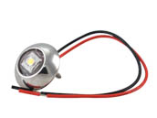 Lumitec Lighting 101049 Exuma Courtesy Light SS White Exuma Marine Surface Mount Light with White Output