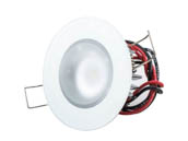 Lumitec Lighting 113198 Mirage FMDL White-Dim-Red Mirage Marine Downlight White Dimming Red Non-dimming Blue Non-dimming