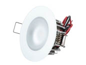 Lumitec Lighting 113199 Mirage FMDL HCRI White-Dim Mirage Marine Dimmable White Finish Warm White LED Downlight