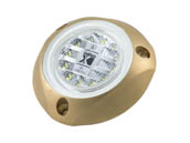 Lumitec Lighting 101140 SeaBlazeX ClWht SeaBlazeX Underwater Marine Light White, White Cross Fade, White Strobe