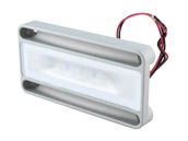 Lumitec Lighting 101296 NevisLT Surface Mount Lumitec NevisLT Utility Marine LED Light, White Non-dimming Output