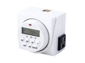 UltraGrow UG-TR/D2/120 120V Digital Timer, double outlets