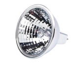 GE 20833 50w MR16 FL40 GX5.3 12V 50 Watt, 12 Volt MR16 Halogen Narrow Flood with Lens Bulb