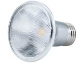 Bulbrite 772711 LED7PAR20/FL40/827/WD Dimmable 7W 2700K 40° PAR20 LED Bulb, Enclosed and Wet Rated