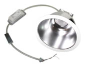 "MaxLite 74201 RR93040W 30 Watt, 2x26 Watt CFL Equivalent, Dimmable, 4000K, LED 9"" Recessed Downlight Retrofit"