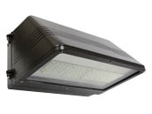 MaxLite 95313 WPCL55AU50BPC12 250 Watt Equivalent, 55 Watt Full Cutoff LED Wallpack Fixture With 120V Photocontrol