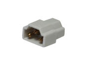 American Lighting ALC-CON-WH Inline Connector for LED 3-Complete Undercabinet Fixture