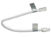 "American Lighting ALLVPEX12WH-B 12"" Linking Cable For MVP LED Puck Lights, 120 Volt - White"