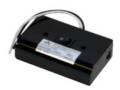 American Lighting ALSLBOX Slimline Hardwire Box, 120 Volt, For MVP LED Puck Lights, Two Molex Outlets, On/Off Switch - Black