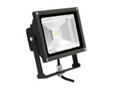 MaxLite 77089 FLS20U50B 150 Watt Equivalent, 20 Watt Small LED Flood Light Fixture - Wide Light Distribution