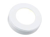 American Lighting OMNI-1-WH 3.2 Watt, 12V Omni Single LED Puck Light - Add to Omni Puck Light Kit - White
