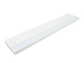 "American Lighting ALC2-18-WH 18 1/4"" 6 Watt Dimmable LED Undercabinet Light Fixture - White"