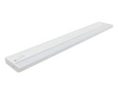 "American Lighting ALC2-24-WH 24 1/4"" 8 Watt LED Undercabinet Light Fixture - White"