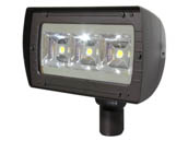 MaxLite 76683 AFD110U641KSBSS 400 Watt Equivalent, 115 Watt LED Architectural Flood Light Fixture