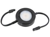 American Lighting MVP-1-BK-B 4.3 Watt, 120V AC, MVP Single Puck Light - Add To MVP Puck Light Kit - Black
