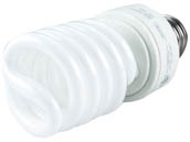 TCP TEC28942H277-27K 42W 277V Warm White Spiral CFL Bulb, E39 Base