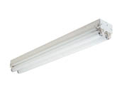 Philips - Day-Brite T217-UNV-1/2-EB Philips 2 Ft. T8 Striplight Fixture for Two F17T8, Bulbs Not Included