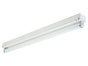 Philips - Day-Brite T132-UNV-1/1-EB Philips 4 Ft. T8 Striplight Fixture for One F32T8, Bulb Not Included