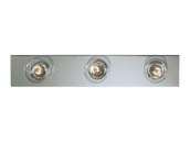 Progress Lighting P3114-15 Three-light Broadway lighting strips for Bathroom or Vanity