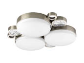 Progress Lighting P3747-0930K9 Three-light LED Wall or Ceiling Mount Fixture