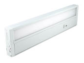 "Kobi Electric K7M6 UC14-30-WH Kobi 14"" 8 Watt Dimmable LED Undercabinet Light Fixture - White"