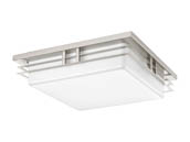 Progress Lighting P3448-0930K9 Two-light LED Square Fixture with Acrylic Diffuser