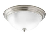 Progress Lighting P3926-09ET Three-light Flush Mount