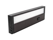 "Kobi Electric K7M3 UC11-30-BZ Kobi 11"" 6 Watt Dimmable LED Undercabinet Light Fixture - Bronze"